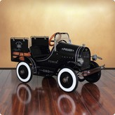 The Well Appointed House Dexton Deluxe Police Pick Up Roadster Pedal Car for Kids - LOW STOCK ORDER NOW