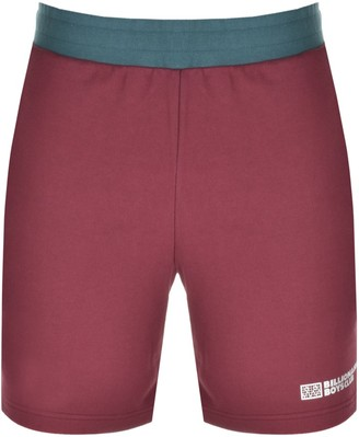 Billionaire Boys Club Logo Sweat Shorts Burgundy