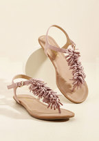 ModCloth Phone a Fringe Sandal in 6.5