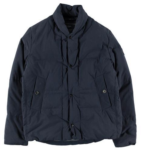 Paul Smith Navy Puffa Quilted Jacket