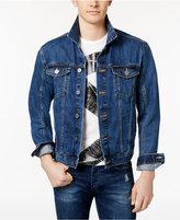 Calvin Klein Jeans Men's Denim Cotton Trucker Jacket