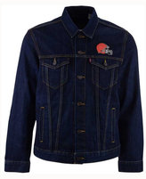 Levi's Men's Cleveland Browns Trucker Jacket