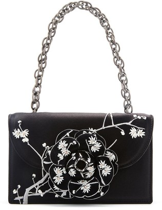 Oscar de la Renta Embroidered TRO Bag