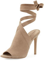 KENDALL + KYLIE Evelyn Suede Wrap-&-Tie Sandal