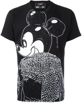 Dom Rebel Mickey print T-shirt
