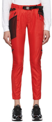Nike Red MMW Edition NRG X SE Lounge Pants