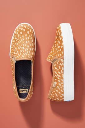 Keds Leopard Platform Slip-On Sneakers