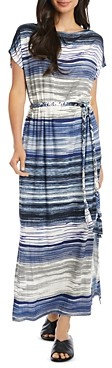Karen Kane Grecian Striped Dress