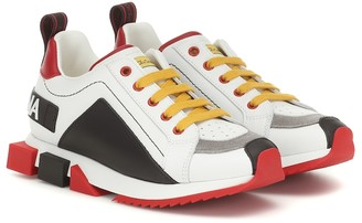 Dolce & Gabbana Kids Super King leather sneakers