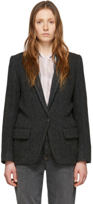 Etoile Isabel Marant Black Wool Charly Jacket