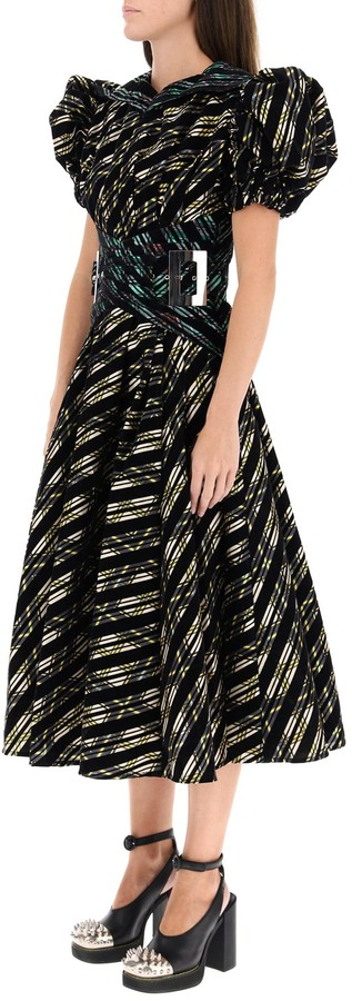 Thumbnail for your product : Chopova Lowena Midi Dress In Organza