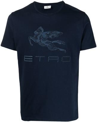 Etro Pegaso logo T-shirt