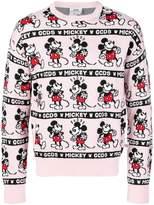Gcds Mickey Mouse intarsia sweater