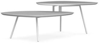 Calligaris Tweet Coffee Table Top Color: Matte Optic White