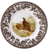 Spode Woodland by Red Grouse Dinner Plate