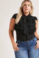 Forever 21 FOREVER 21+ Plus Size Ruffle Top