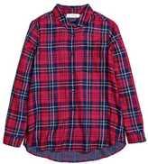 H&M Cotton Shirt - Red/plaid - Ladies