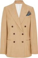 Brunello Cucinelli Safari Wool-Blend Blazer