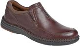 Dunham Dark Brown RevChase Leather Loafer - Men
