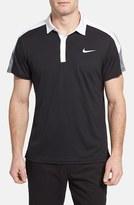 Nike Men's 'Team Court' Dri-Fit Tennis Polo