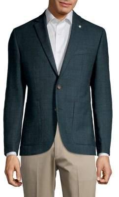 Ted Baker No Ordinary Joe Joy Wool Sportcoat
