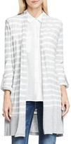 Vince Camuto Long Stripe Cardigan