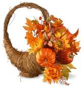 National Tree Company® 22-Inch Autumn Cornucopia Basket in Orange