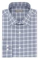 Michael Kors Herringbone Plaid Dress Shirt