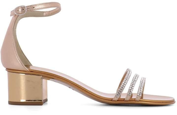 Giuseppe Zanotti Pink Leather Sandals