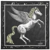 Aspinal of London Pegasus Silk Twill Scarf