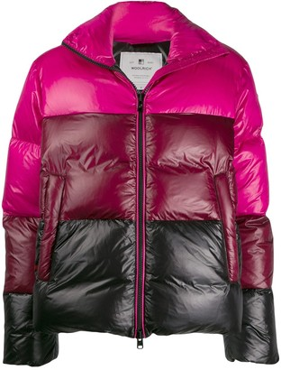 Woolrich gradient down jacket