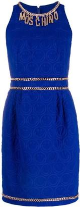 Moschino Smiley Pattern Mini Dress
