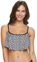 Apt. 9 Women's Strappy Flounce Bikini Top
