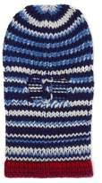 CALVIN KLEIN 205W39NYC Striped wool ski mask