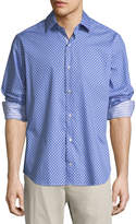 Tailorbyrd Classic-Fit Dobby Sport Shirt