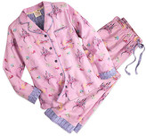 Disney Sleeping Beauty Flannel Pajama Set for Women by Munki Munki®