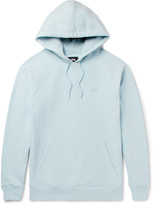 Stussy Fleece-Back Cotton-Jersey Hoodie