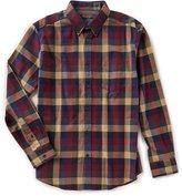 Ben Sherman Long-Sleeve Textured Buffalo Shirt