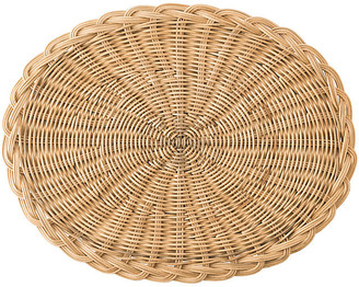 Juliska Braided Basket Oval Place Mat - Natural