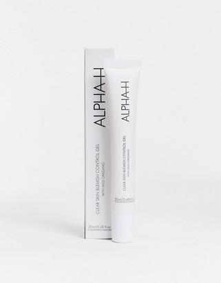 Alpha-h Clear Skin Blemish Control Gel 20ml-No Colour