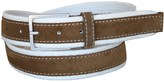 Lejon Suede Overlay Cotton Belt (For Men)