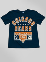 Junk Food Clothing Kids Boys Nfl Chicago Bears Tee-new Navy-xs