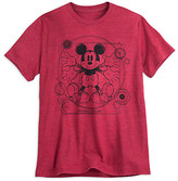 Disney Mickey Mouse Heathered Tee for Men