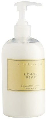 Pottery Barn K. Hall Lemon Sage Lotion Pump