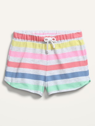 Old Navy Printed Pull-On Jersey Shorts for Toddler Girls