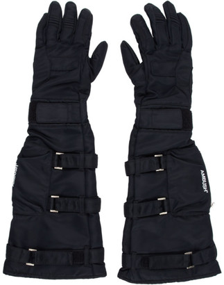 Ambush Black Astro Gloves