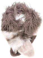 Urban Code Urbancode fur scarf