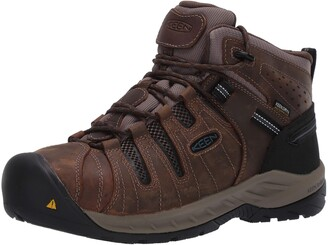 Keen Men's Flint II Mid Steel Toe Waterproof Construction Shoe