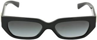 Valentino V Logo Squared Acetate Sunglasses