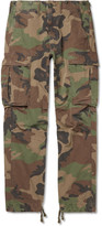 RRL - Slim-Fit Camouflage-Print Cotton-Ripstop Cargo Trousers